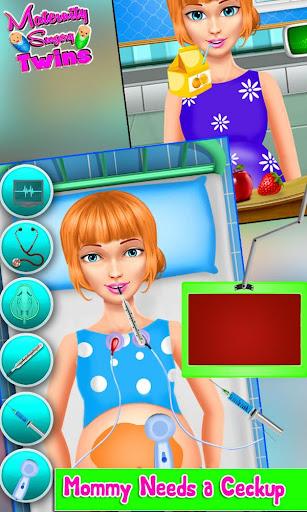 Maternity Twin Surgery Doctor 2.6 screenshots 2