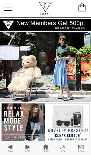i-SOOK(アイスー)公式ファッション通販