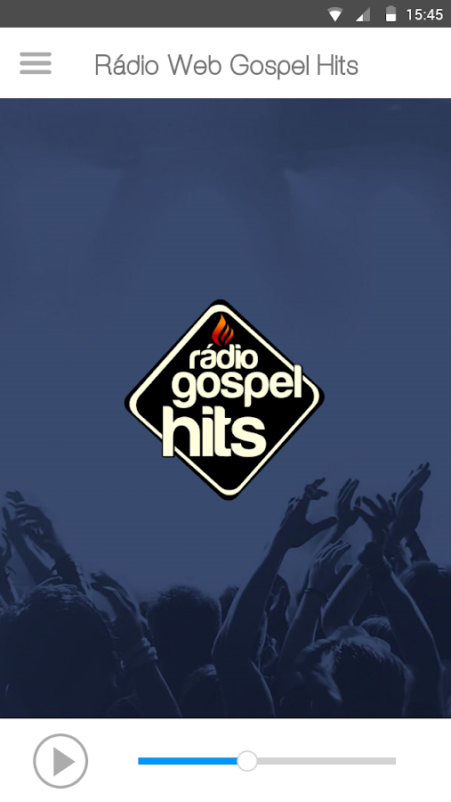 Rádio Web Gospel Hits- screenshot