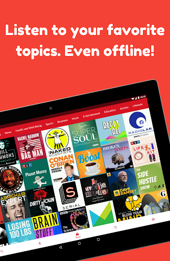 Podcast App: Free & Offline Podcasts by Player FM 4.9.0.44 screenshots 2