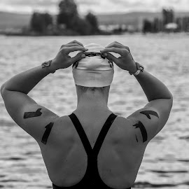 Open Water Swimmer by Rick Pelletier - Novices Only Sports