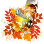 Autumn Leaf 2D Theme Icon