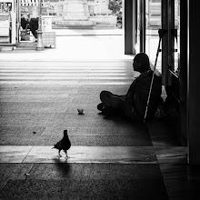 Photo: Bolzano #28 - lonely...  #street #streetphotography #shootthestreet #blackandwhite #blackandwhitephotography #bw #monochrome #bolzano