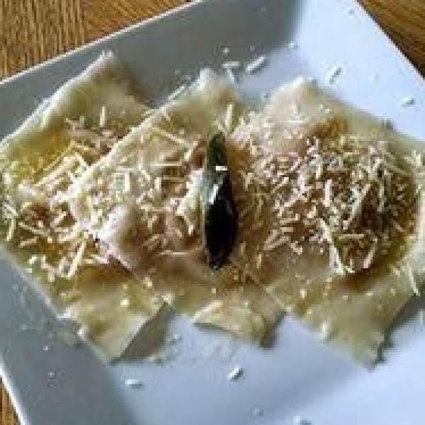 Pumpkin Ravioli In Sage Butter Recipe