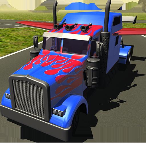 飞行汽车:变压器卡车 模擬 App LOGO-硬是要APP