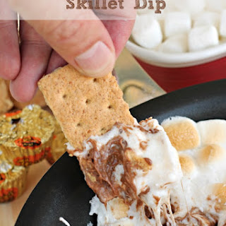Reese's S'mores Skillet Dip