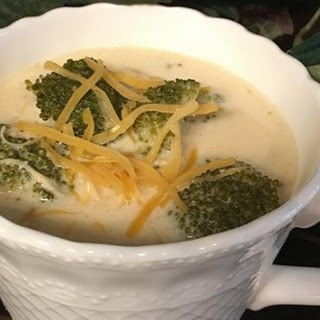 Low-Carb Cream of Broccoli Soup.