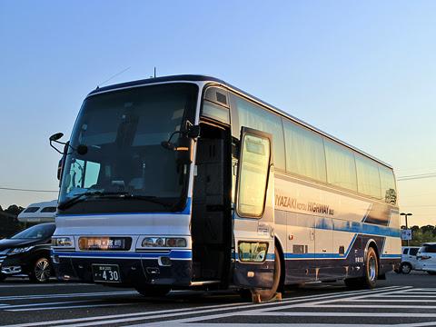 宮崎交通「福岡~延岡・宮崎夜行線」 ・430 川南PAにて その1