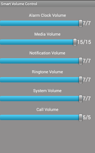 Smart Volume Control