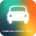 Champagne-Ardenne, France GPS icon