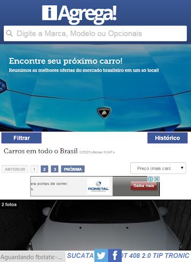 iAgrega - Comprar Carro
