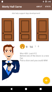 Monty Hall Game- screenshot thumbnail