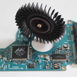 Old Laptop Parts by H Scott Burd - Artistic Objects Technology Objects ( close-up photo )