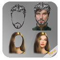 Hair and beard Changer icon