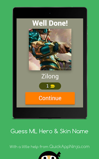 Adivinha Herói Mobile Legends 3.2.7z screenshots 6
