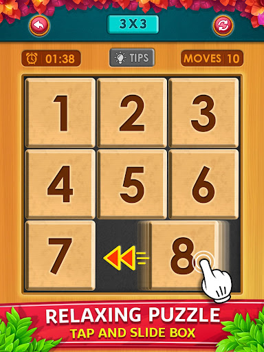 Number Puzzle - Classic Slide Puzzle - Num Riddle android2mod screenshots 15