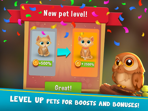 Pets Hotel: Idle Management & Incremental Clicker - screenshot
