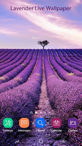 Lavender Live Wallpaper HD 2.2.0.2235 screenshots 1