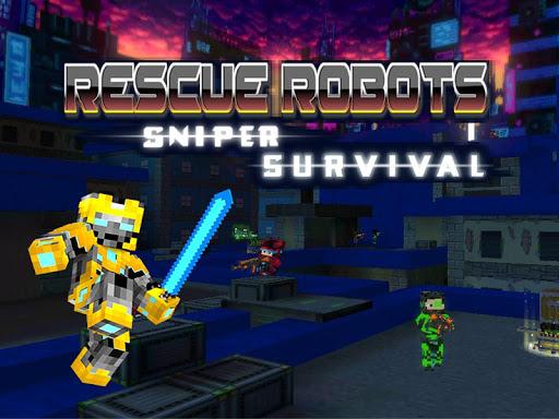 Rescue Robots Sniper Survival screenshots 9