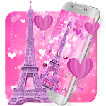 Love Eiffel Theme Icon