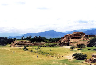 Photo: Oaxaca, ruiny Monte Alban / The ruins of Monte Alban