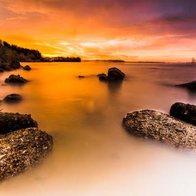 Harmony by Sherry Zhao - Landscapes Sunsets & Sunrises ( pwcsunbeams-dq )