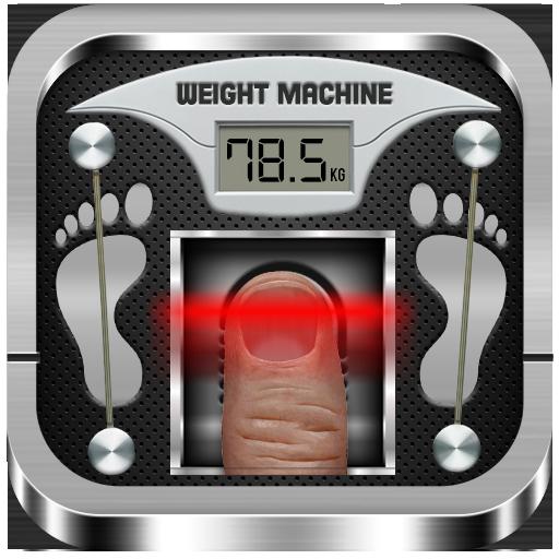 Weight Machine Scanner Prank App