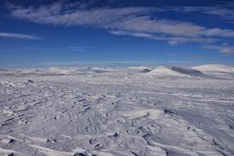 Kuva: Yliperän maisemaa Muohtaoaivin päältä kuvattuna
