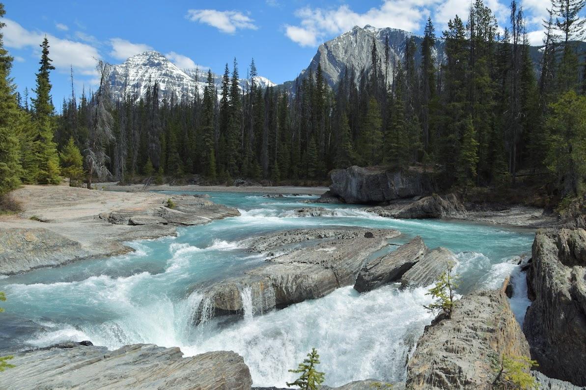 viaje a las montañas rocosas de Canadá