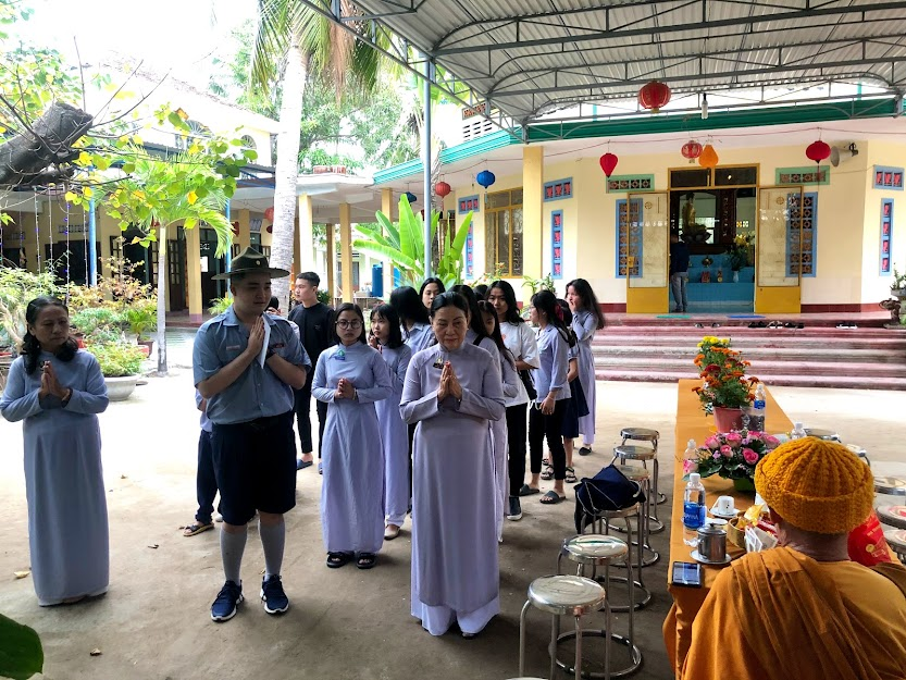 GĐPT NGỌC MỸ – Lễ Phật, họp mặt đầu năm Tân Sửu 2021