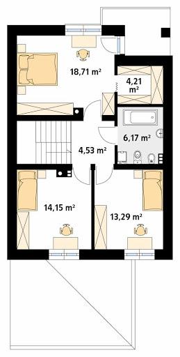 Limba W2 - Rzut piętra