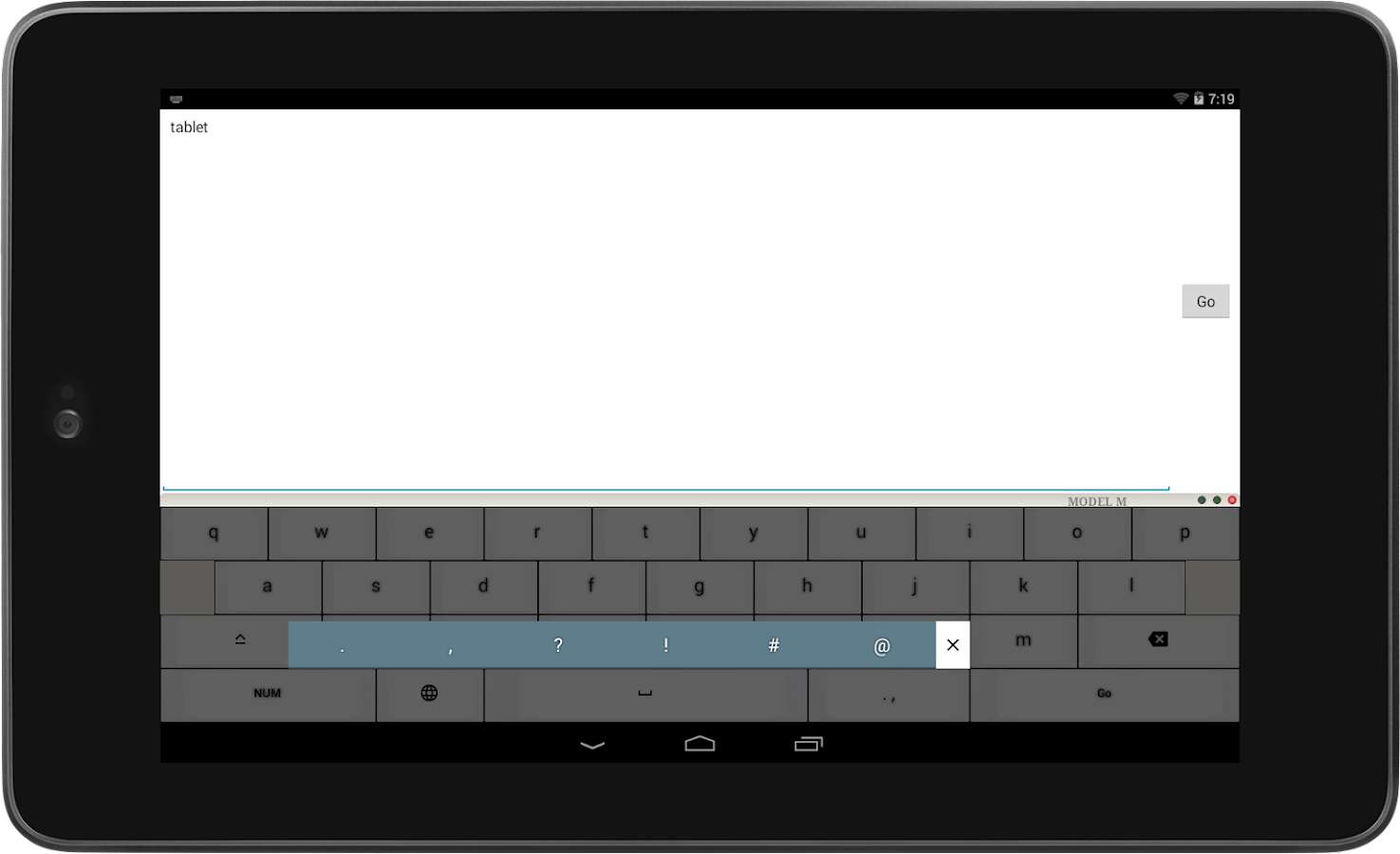 Mechanical keyboard forandroid android apps on google play mechanical keyboard forandroid screenshot buycottarizona