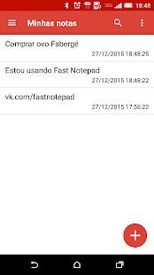 Fast Notepad imagem 1