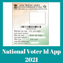National Voter Id (पहचान-पत्र) List App 2021 icon