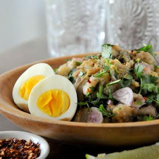 Thai Grilled Eggplant Salad | Yum Makeua Yao | ยำมะเขือ