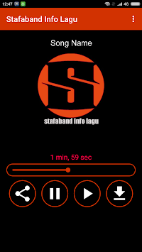 Stafaband Info Lagu Poster