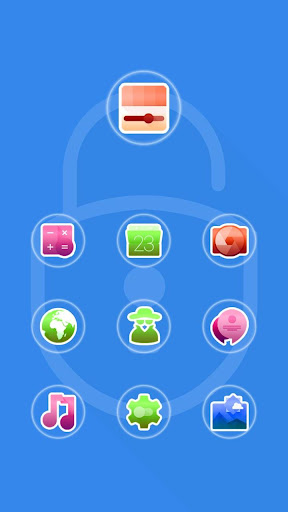 Locker CM Launcher theme
