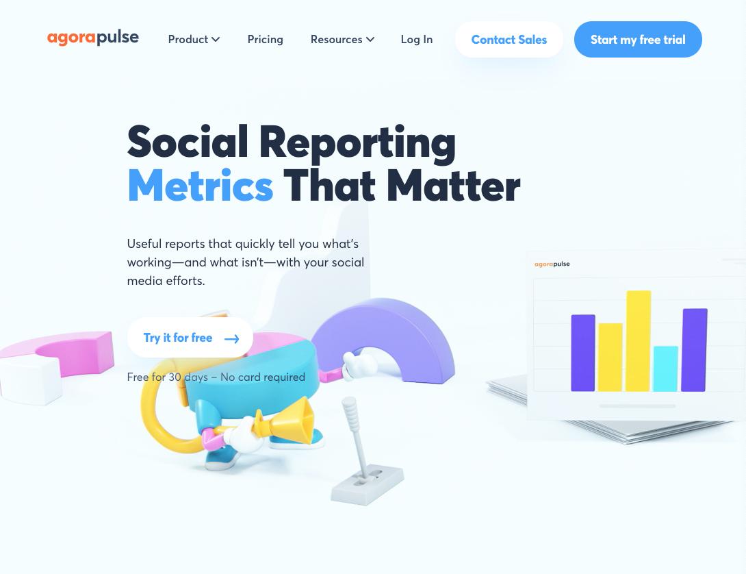 agoraulse social media metric system for youtube