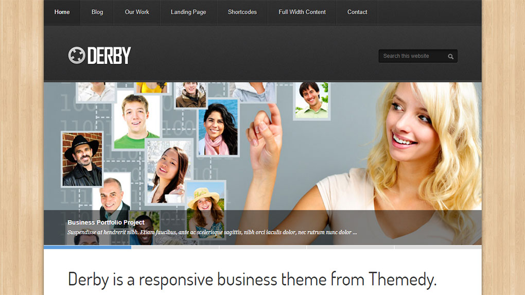 child theme derby para genesis framework