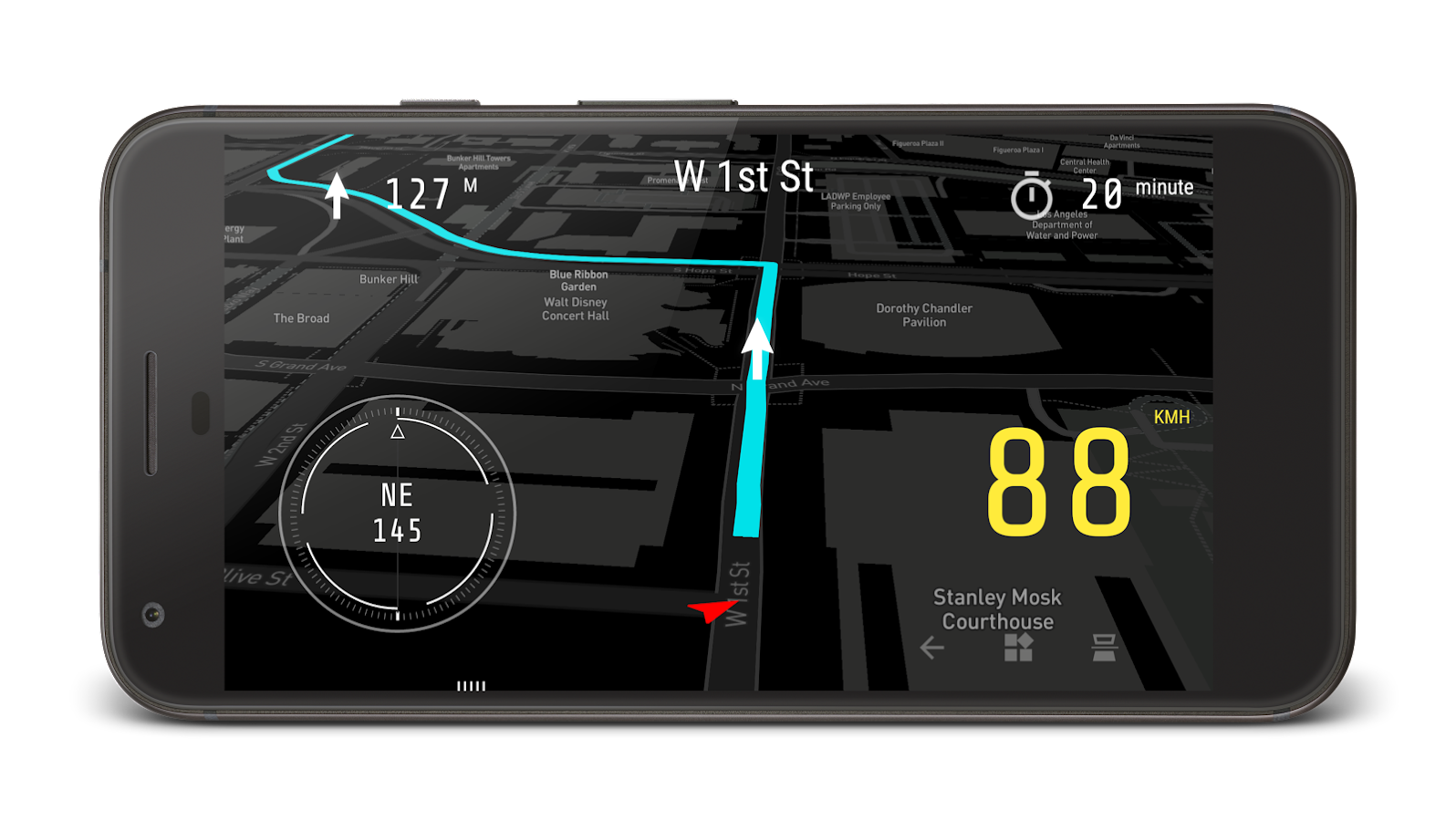 Navier HUD 3 (OBD2 & Navigation)- screenshot