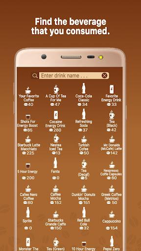 Caffeine Tracker screenshot 2