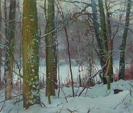 Photo: Зимовий ліс., п.о., 60х70, 2013 р.