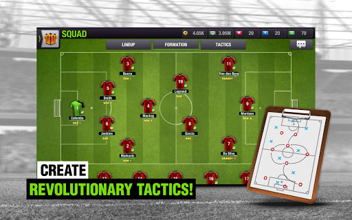 Top Eleven 2018 - Be a Football Manager  screenshots 10