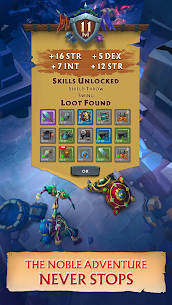 Never Ending Dungeon – IDLE RPG Apk Download For Android and Iphone 4