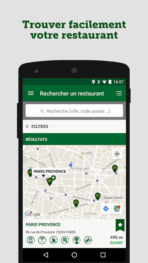 McDo France- screenshot