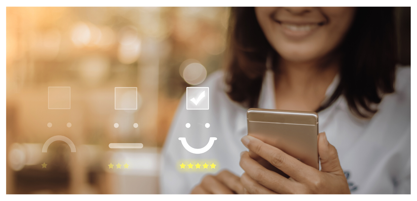 Asking for feedback or reviews is an e-commerce marketing strategy