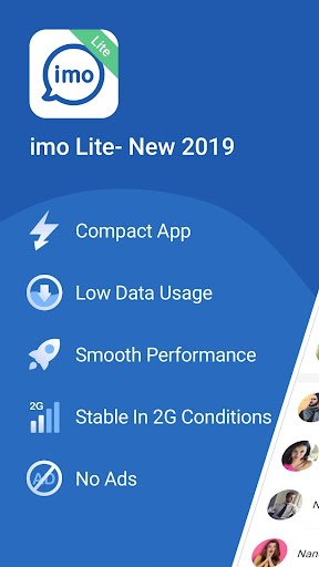imo Lite - New2019 Superfast Free calls & just 5MB 9.8.000000012327 screenshots 1