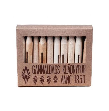Gammaldax klädnypor 20-pack