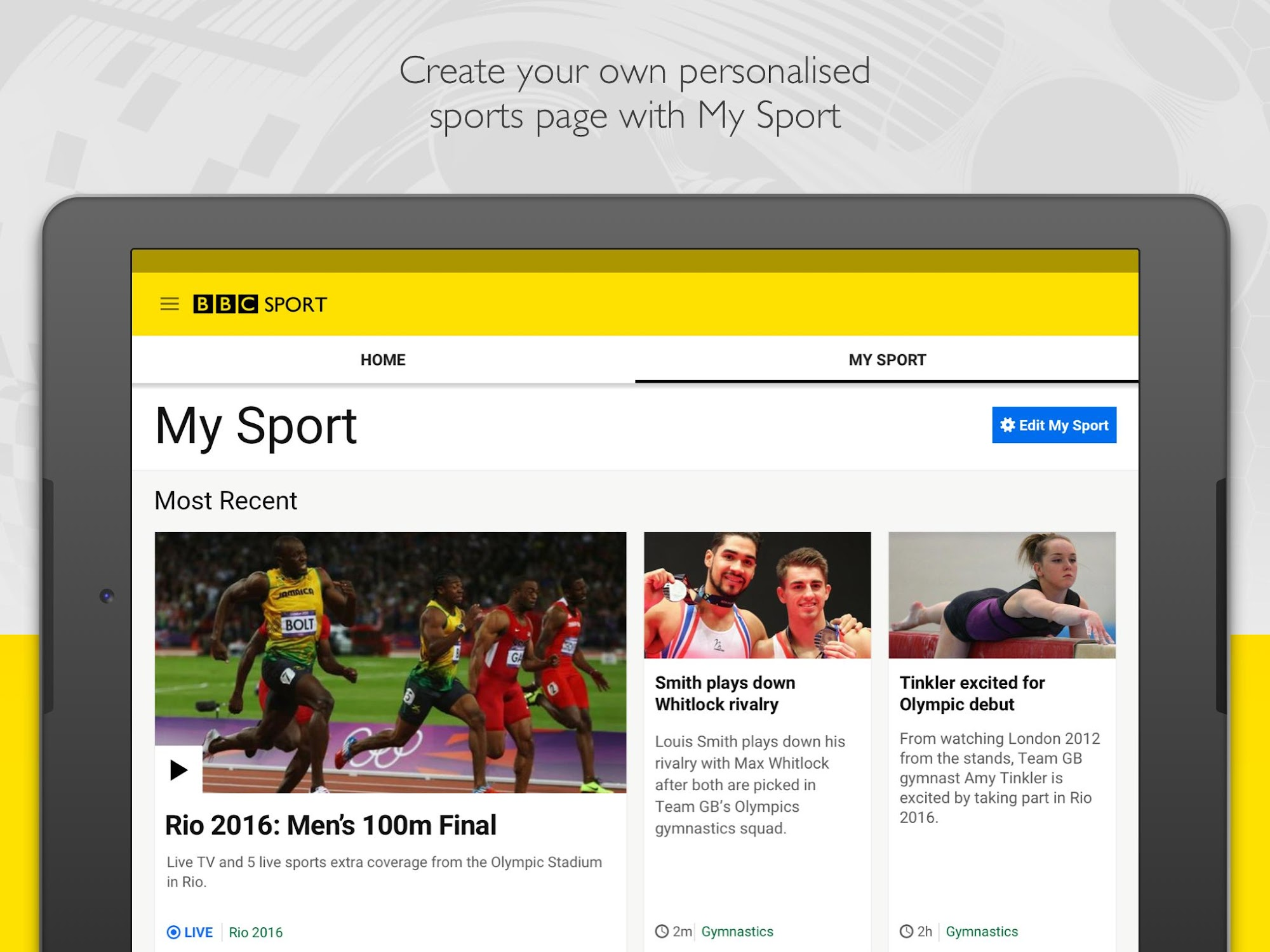 BBC Sport screenshot #8