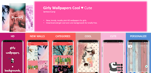 Girly Wallpapers Cool Cute Aplikacije Na Google Playu